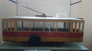 Muzeul Tehnic Dimitrie Leonida tramvaiul electric introdus in 1923
