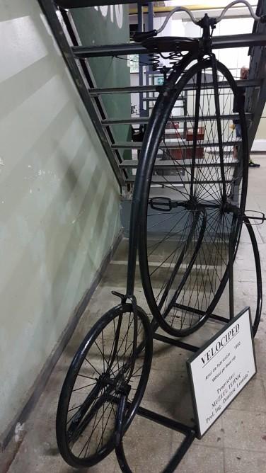 Muzeul Tehnic Dimitrie Leonida velociped