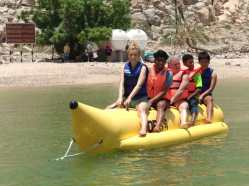 Banana boat ride Musandam Tourism