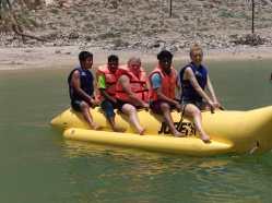 Banana boat ride Musandam