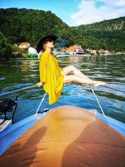 Yachting Danube River