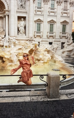 cea mai frumoasa fantana baroca din Roma fontana di trevi