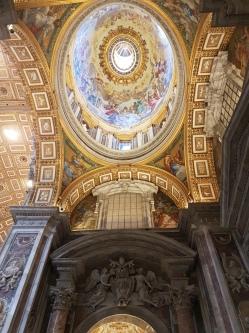 fresca Basilica San Pedr