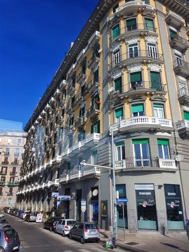 Lungomare arhitectura Napoli