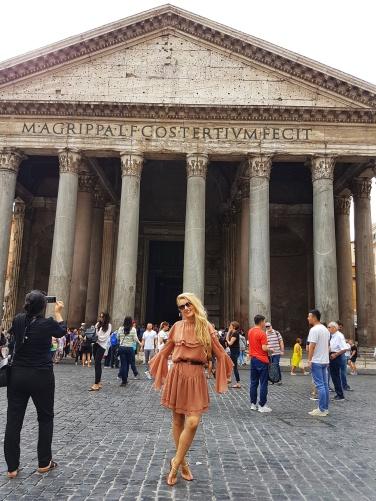 obiective turistice de vizitat in Roma gratis Pantheonul