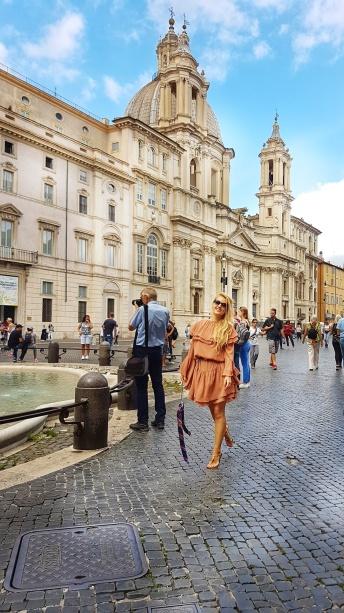 Piazza Navona cea mai frumoasa piata baroca din Roma
