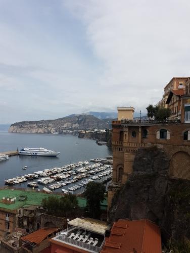 belvedere port turistic Sorrento