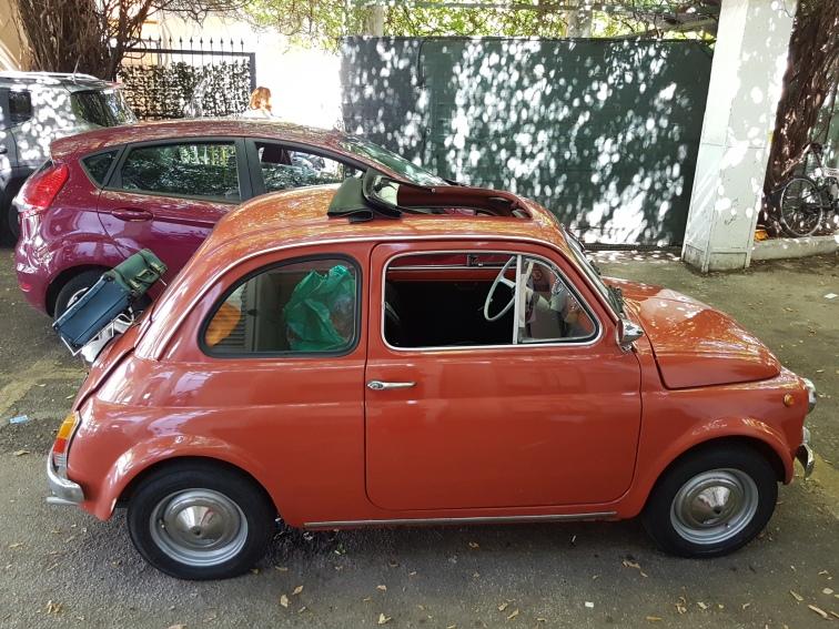 cel mai mic Fiat vazut in Italia