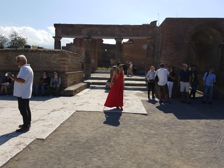 Forul Roman atractii turistice Pompei