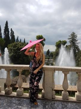 gradinile de la Villa D'este cele mai frumoase gradini din Tivoli