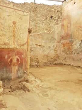 interior casa Pompei