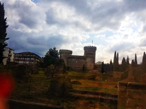 Rocca Pia – castelul de vizitat in Tivoli