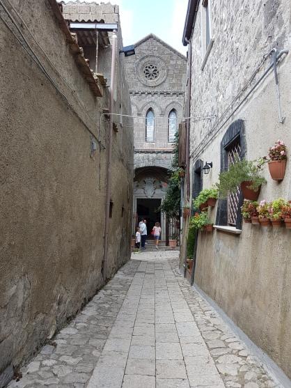 stradutele din Casertavecchia
