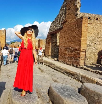 treceri pietonale Pompei