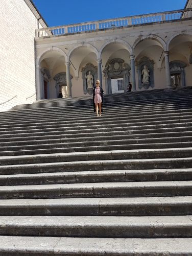 una dintre cele mai frumoase manastiri din lume MonteCassino Italy