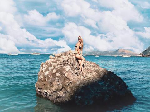 Cea mai frumoasa plaja din Capri