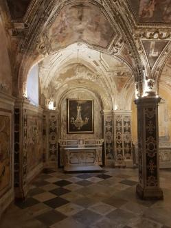 cripte catedrala Sf Andrei Amalfi ce poate fi vizitata