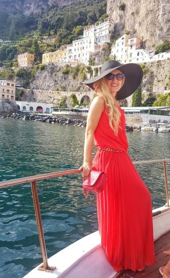 plimbare cu barca Coasta Amalfi