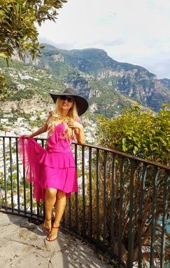 Positano atractii turistice top view