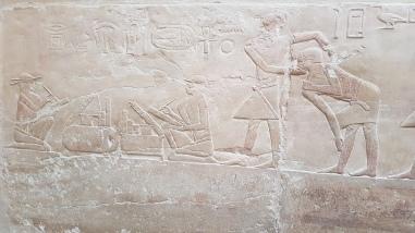 doctori reprezentati in mastaba prințesei Idut Saqqara Egipt - ce sa vizitezi langa Cairo