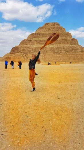 Piramida în trepte a faronului Djoser de la Saqqara