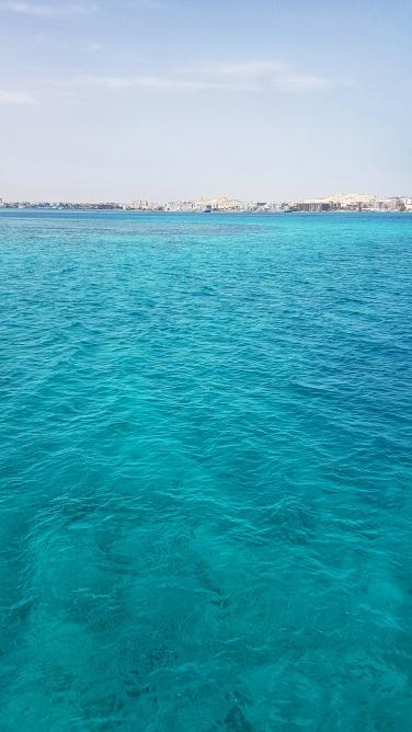 Marea Rosie in Egipt care de fapt este turcoaz