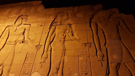 cel mai frumos templu din Kom Ombo - templul lui Sobek zeul crocodil