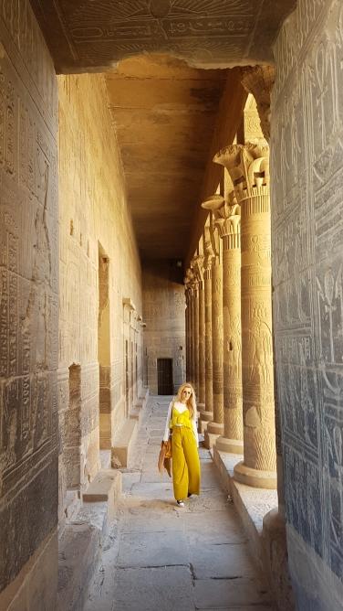 coloanele templului zeitei Isis de la Philae