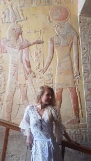 Faraonul Merenptah si Zeul Horus