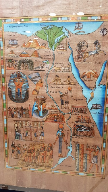 harta Egipt