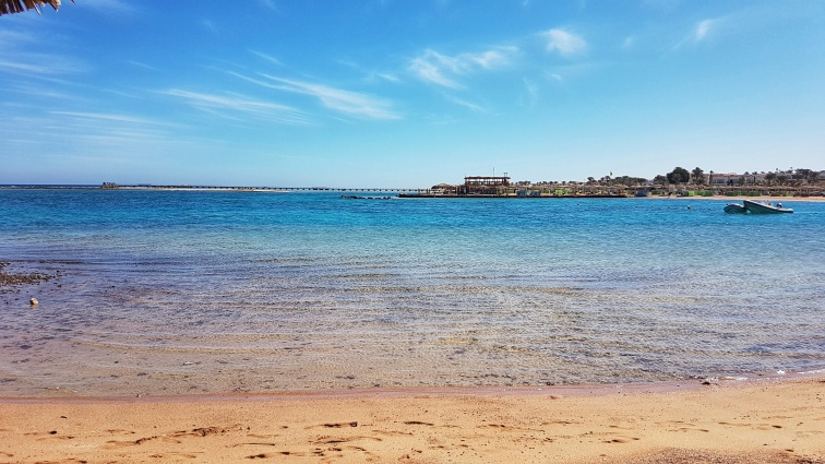 plaja nisip fin Hurghada