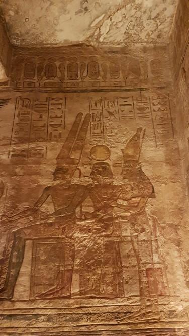 reprezenatri grafice templu de la Abu Simbel