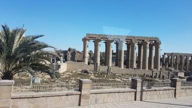 templul de la Luxor vazut ziua