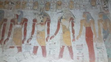 Thoth - zeul înțelepciunii si Anubis - zeul mortii