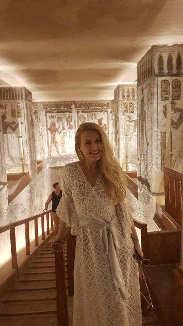 Valea Regilor - mormant Ramses al IIIlea