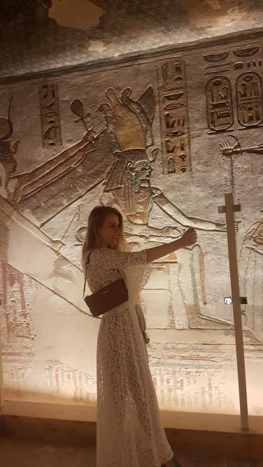 Zeita Isis si Ramses al III-lea mormant Valea Regilor
