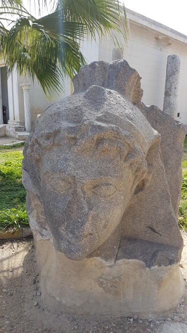 capul lui Marc Antonio in Alexandria Egipt