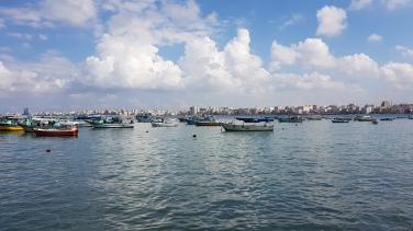 Marea Mediterana Alexandria Egipt