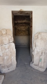 unde se inmormantau roamnii in Alexandria, Egipt