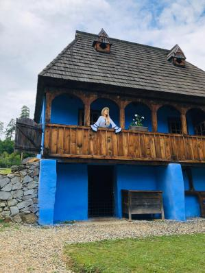 cele mai frumoase case de la muzeul Astra Sibiu