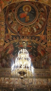 altar Mânăstirea Vărbila Prahova