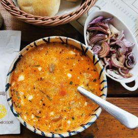 ciorba in afumatura menu Restaurant Ferma Dacilor