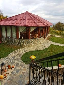 Cabana cu foisor Sibiu, Apoldu de Sus