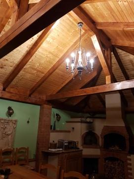 cazare cu fosisor, gratar, cuptor cu lemne, Cabana dintre Vii, Sibiu, Romania