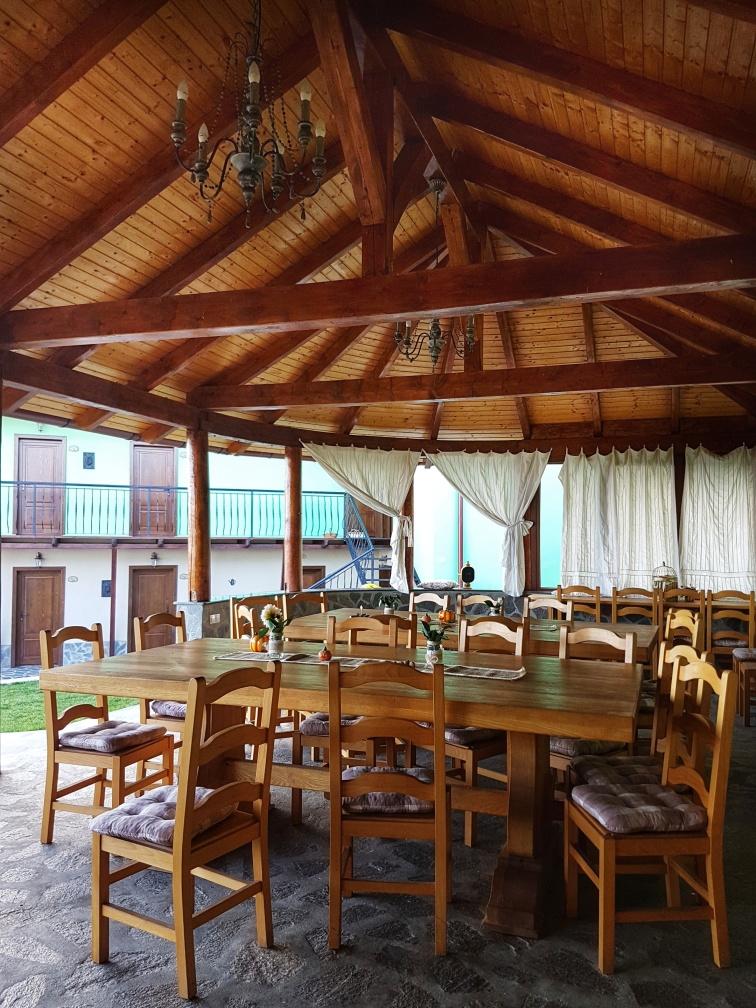 interior foisor Cabana dintre Vii