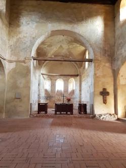 altar biserica fortificata Cisnădioara