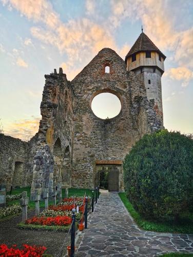 rozeta abația Cârța