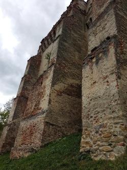 creneluri cetatea Slimnic Sibiu