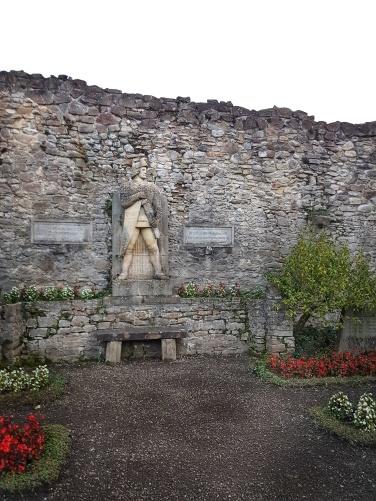 Statuia lui Roland – erou Germanic, simbol al libertatii si dreptatii