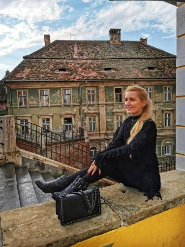 unul dintre cele mai frumoase locuri din Sibiu Podul Minciunilor